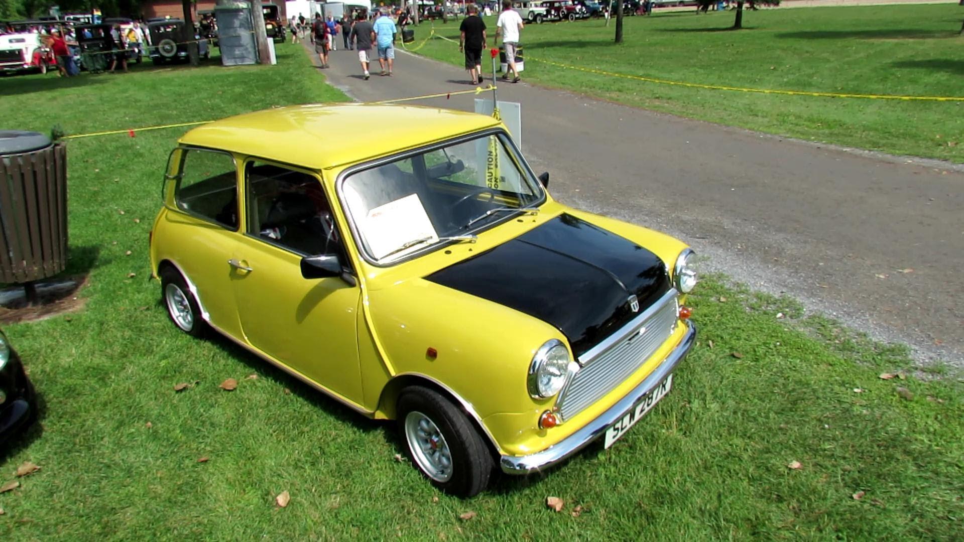 Membedah Mobil Lawas Morris Mini Cooper Milik Mr Bean