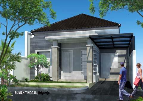 5 kreasi desain atap limas untuk atap rumah